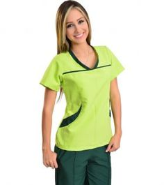 Cute Nursing Scrubs, Spa Uniform, Balayage Hair, Dress Patterns, Couture, How To Wear, Pants, Outfits, Phlebotomy
