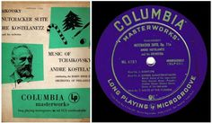 Kostelanetz, Andre / Tchaikovsky: Nutcracker Suite / Columbia Masterworks ML-4151 / LP / 1949, $7.00