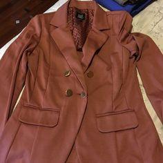 Blazer A brownish tarnish color blazer Jackets & Coats Blazers