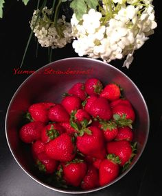 The Health Benefits of Strawberries!