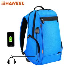 f0b34eaf5e HAWEEL Outdoor Backpack Multi-function Comfortable Breathable Casual  LaptopTablet Bag+External USB Charging