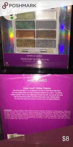 🆕 glitter palette Wet n wild glitter palette wet n wild Makeup Eyeshadow