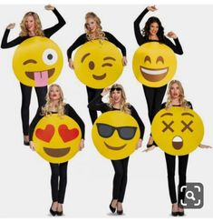 72a4c32e9c This funny emoji costume includes a foam body overlay with a printed emoji  face. This emoji costume comes in adult size One Size.