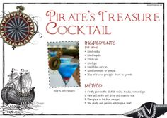 Pirate Theme, Pirate Party, Pirate Drinks, Vodka Cocktails, Vodka Tequila, Pirate Halloween, Halloween Party, Pirate Adventure, Company Party