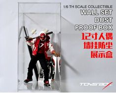 #transformer No place for toys? Come take a look TOYS-BOX 12 inch doll wall mount dust display box
