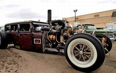 twin turbo diesel rat rod