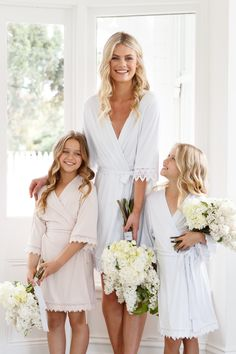 Why Flower Girl Robes are the Must-Have of 2018