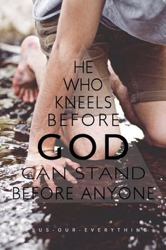 Kneel before God                                                                                                                                                                                 More