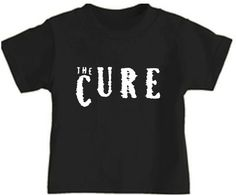 wb the cure toddler kids tee shirt childrens black concert clothes punk cool on Etsy, $19.00