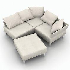 sofa 3d model - Sofa_3DS.zip... by Heidt