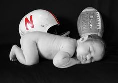 football baby. Take out the N and add some purple and it would be perfect. =)