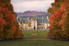 Visiting Biltmore Estate is a grand adventure any time of year but is especially beautiful during fall.  The Blue Ridge Mountains are awash in autumnal color creating the perfect backdrop for this historical attraction.  Even better, there are fun events to take part in as well as outdoor activities placing you in the midst of fall in Asheville, North Carolina.