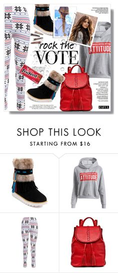 """""""Zaful"""" by sans-moderation ❤ liked on Polyvore featuring Jack Rogers, Urban Outfitters, Fall, polyvoreeditorial and polyvorecontest"""