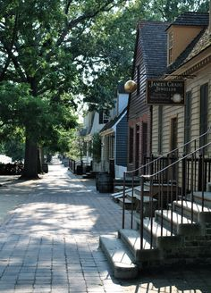 "Walked by the likes of George Washington and Thomas Jefferson, Williamsburg's Duke of Gloucester Street dates back to the 17th century and was called the most ""most historic avenue in all America"" by Franklin D. Roosevelt.  I so loved walking on this street which was walked by many of our founding fathers."