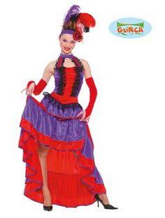 Ce déguisement de danseuse de French Can Can sera parfait pour une soirée déguisée à l'occasion de la Saint Sylvestre !