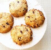 Keksz csokidarabokkal Zelleitündi módra