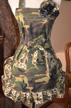 Your in the Army Now Military Inspired by OliviabyDesign on Etsy, $26.95 oliviabydesign