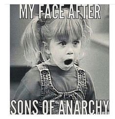 This is #onpoint with my reaction to the finally. #soa