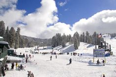 Dodge Ridge Ski Resort in California