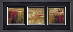 Abstract Trio | Abstract | Framed Art | Wall Decor | Art | Pictures | Home Decor