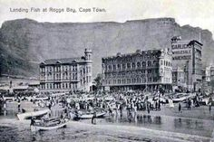 Landing Fish at Rogge Bay - Hilton T Old Pictures, Old Photos, Cities In Africa, Cape Dutch, Colonial Architecture, Most Beautiful Cities, Vintage Postcards, Vintage Photos, Historical Pictures