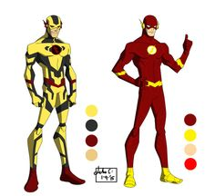 The DC Project: The Flash, Reverse Flash redesign by huatist on DeviantArt