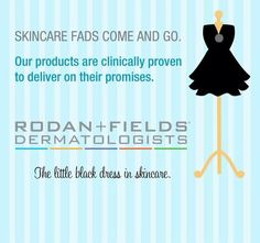 Join my Rodan and Fields team! Have fun and earn money helping women achieve gorgeous skin. Message me or visit my website for more info.