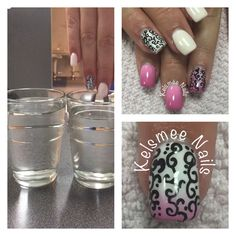 Le Chat moodgel with black nailart