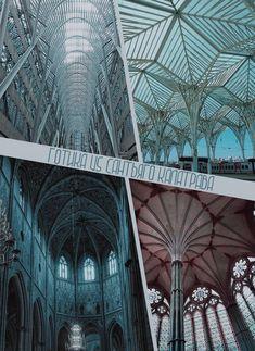 Сравнение готической архитектуры и работ Сантьяго Калатравы