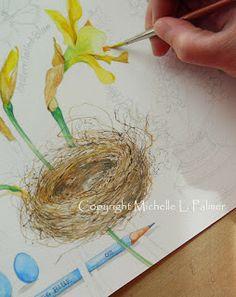 Michelle Palmer: Watercolor tutorial
