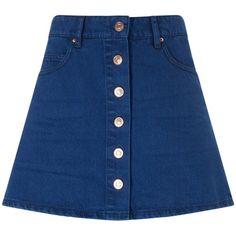 Isabel Marant Étoile Midnight Denim Plume Mini Skirt (215 AUD) ❤ liked on Polyvore featuring skirts, mini skirts, navy, mini skirt, bohemian skirt, denim skirt, short skirts and navy blue mini skirt