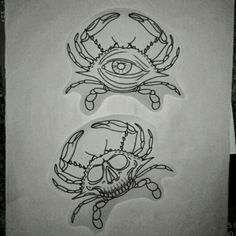 Love the Eye Crab.. Cancerians have insight and intuition. Brilliant and original