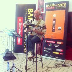 Enric Hernàez a la presentació del Programa #barnasants2013