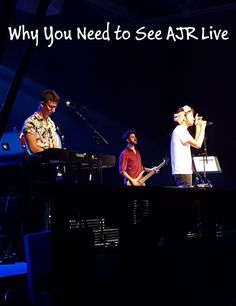You have to love a band that starts one of their songs with Spongebob lyrics... Indeed, we loved the band of brothers, AJR, before we saw them perform live this weekend. But after seeing them in concert? Well, they blew us away with their energy, creative songs, personality, and musicianship.