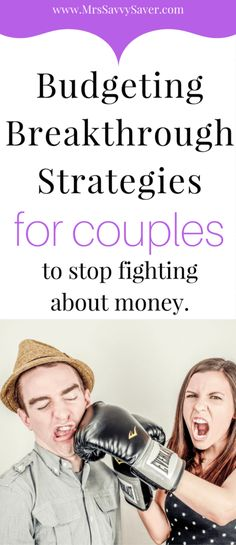 How to Budget as a Couple. Budgeting Strategies for Couples to stop fighting about money.