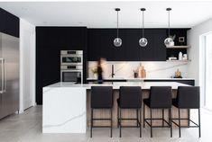 Quelques Photos, Modern Kitchen Design, Table, Instagram, Apartments, Furniture, Construction, Home Decor, Kitchens