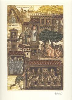 Doña Beritola - El Decamerón de G. Boccaccio, con grabados originales de Celedonio Perellón - Jornada II :: Novela sexta: Doña Beritola, hallada con dos corzos en una isla, tras haber perdido dos hijos, marcha a Lunigiana; allí uno de los hijos entra al servicio de su señor, se acuesta con la hija de éste y es encarcelado. Cuando Sicilia se rebela contra el rey Carlos y la madre reconoce a su hijo, éste se casa con la hija de su señor y encuentra a su ...  :: © 2008 Liber Ediciones