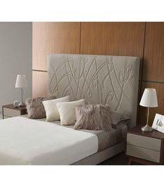 Comprar online Cabecero tapizado con diseño orgánico modelo LIANA Ideas, Bed, Furniture, Home Decor, Templates, Upholstered Headboards, Headboards, Yurts, Decoration Home