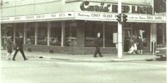 Bay City Michigan, Grandma And Grandpa, Coney Island, Historical Architecture, Back In The Day, Lion, Red, Memories, Vintage