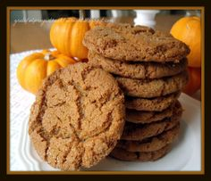 With a Grateful Prayer and a Thankful Heart: Ginger Crinkles