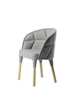 Дизайнерские стулья EMMA и EMILY от Färg & Blanche
