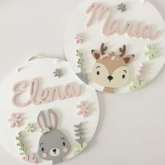 Wooden Decor, Wooden Crafts, Felt Crafts, Diy And Crafts, Paper Crafts, Hand Embroidery Art, Baby Name Signs, Baby Mobile, Diy Signs