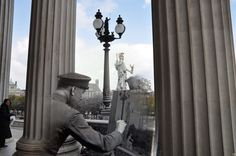 Vienna, 1945/2010.   26 Ghostly Images Of World War Two, Blended With The Present
