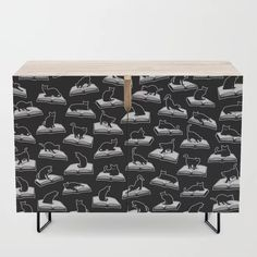 Buy Easily Distracted By Cats And Books Book & Cat Lover Pattern Credenza by grandeduc. Worldwide shipping available at Society6.com. Just one of millions of high quality products available.
