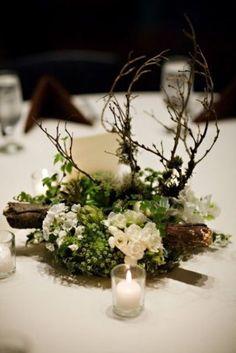 32 Naturally Charming Woodland Wedding Centerpieces #weddingcenterpieces