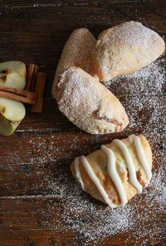 Apple Pie Breakfast Turnovers, an easy homemade turnover filled with a delicious apple filling, a perfect breakfast snack or dessert recipe.