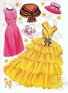 Sandra Dee Paper Dolls 1959 - 6