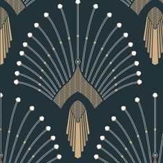 Art Deco Style Furniture and Home Inspirations Motif Art Deco, Art Deco Pattern, Art Deco Design, Art Deco Fabric, Logo D'art, Art Logo, Art Deco Stil, Art Deco Home, Teen Star