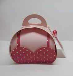 Bra box,Curvy Keepsake Box Bra Melon Mambo Pink Pirouette, heart framelits.