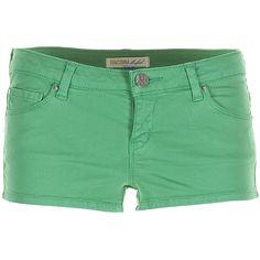 Fracomina Hot Shorts ($28) ❤ liked on Polyvore featuring shorts, bottoms, short shorts, fracomina, hot cotton pants, hot pants and hot shorts